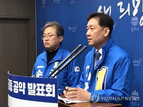 강원 여야 후보 진열정비 '빅매치' 예고…각 정당 선거체제 가동