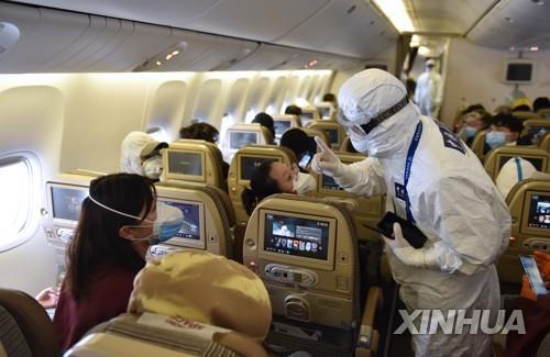 베이징 역유입 통제 강화…아시아나 베이징행 승객 없이 운항(종합2보)