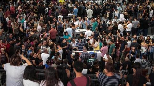 """브라질 상파울루 """"코로나19 사망자 장례식 1시간 이내로"""" 제한"""