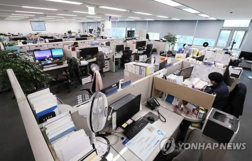 """""""사회적 거리 두기 동참"""" 충북교육청, 희망 직원 재택근무 실시"""