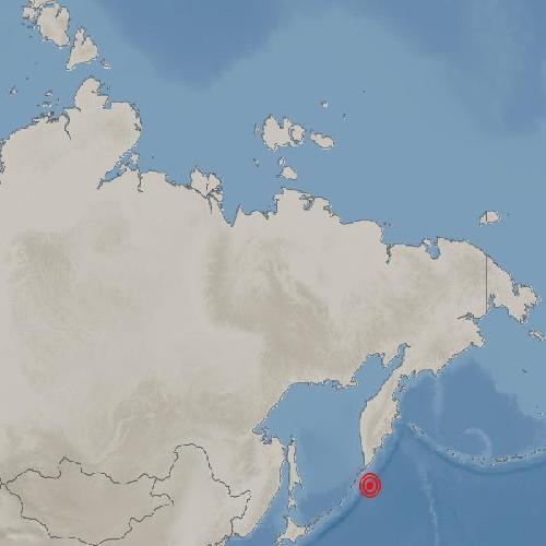 """러시아 쿠릴열도 인근 해역서 규모 7.5 지진…""""쓰나미 경보""""(종합)"""