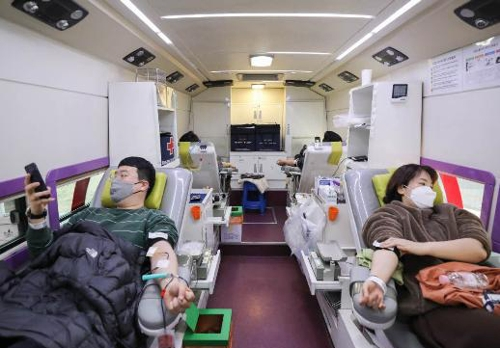 코로나19로 헌혈자 감소…전북 체육단체·기관 '헌혈 릴레이'