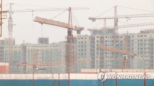 작년 건설공사 계약액 226.9조원…전년보다 3.6% 늘어