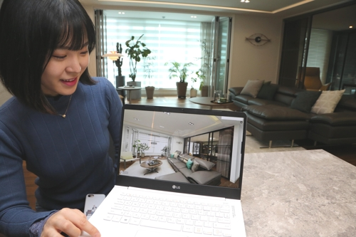 한샘 봄·여름 시즌 리하우스 신제품 VR로 본다