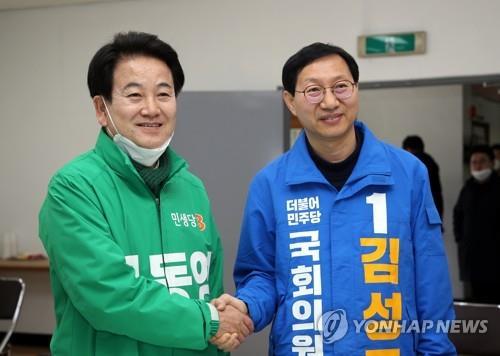 절치부심 김성주·5선 도전 정동영, 전주병 후보 등록