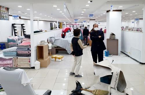 '화마'에 울고 '병마'에 쓰러지는 서문시장 4지구 상인들