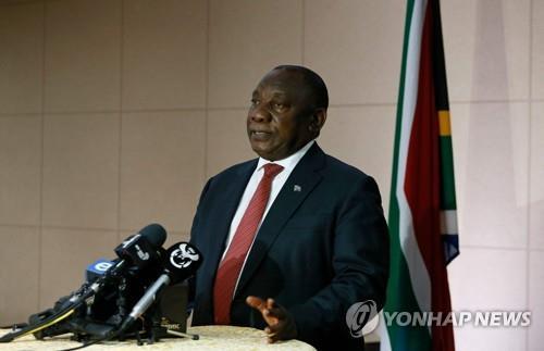 """라마포사 남아공 대통령 G20서 """"아프리카 도와야"""""""