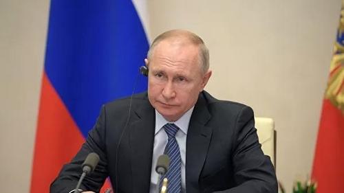 """푸틴 """"코로나19 심각한 피해국에 국제 제재 일시 해제해야""""(종합)"""