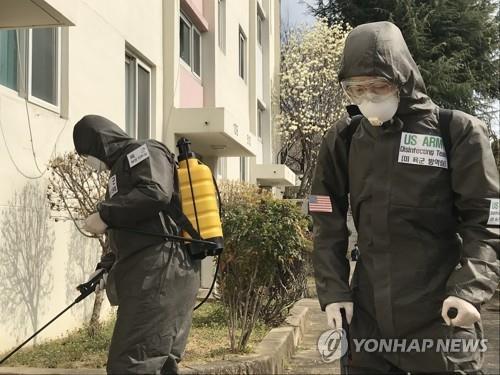 주한미군, 11번째 코로나19 확진자 발생…여군 병사(종합)