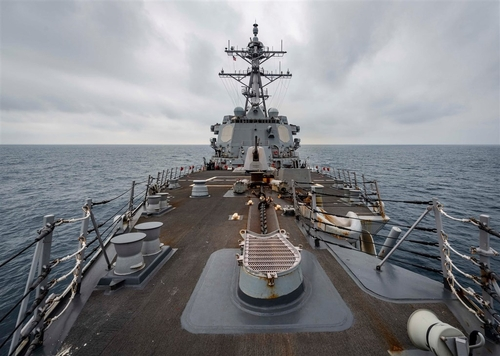 미 군함 대만해협 또 통과…'대만압박' 중국에 경고음