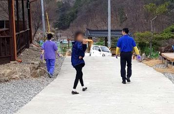 보은 사회복무연수센터 격리 환자 무단이탈 소동…주민 반발(종합)