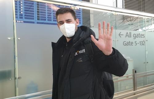 프로배구 OK저축은행 레오, 크로아티아로 출국