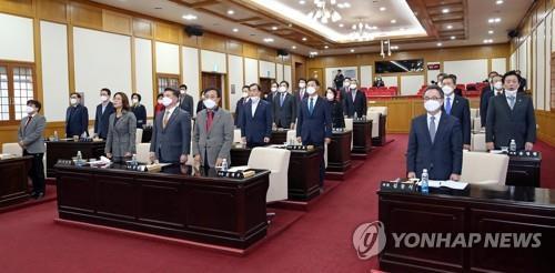 코로나19 확진 총선 후보자 측 접촉 대구시의원 음성