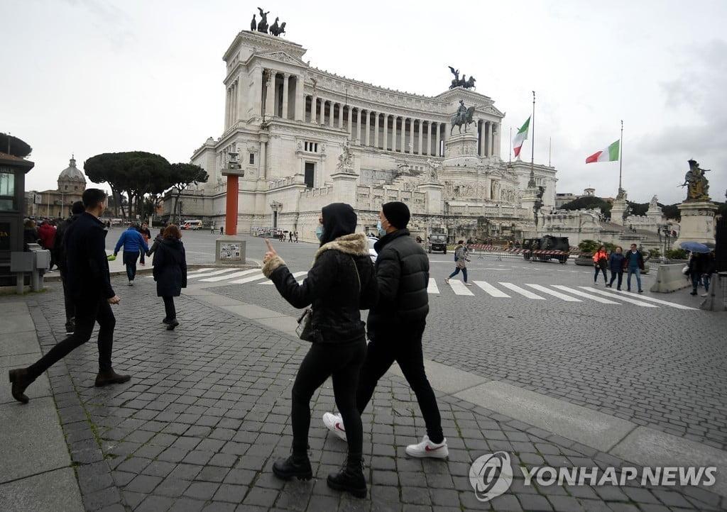 이탈리아 `코로나19` 확진 1,694명.사망 34명...성당 첫 폐쇄