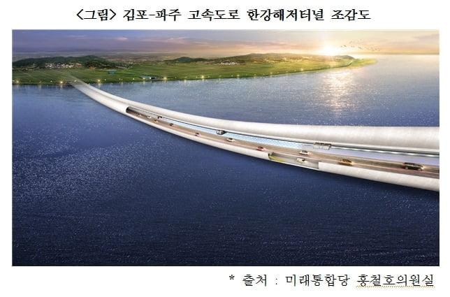 김포-파주 고속도로 한강통과구간 이달 착공 예정