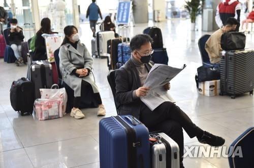 中, 입국 항공편 3등급 위험 관리…韓 최소 `중위험` 예상
