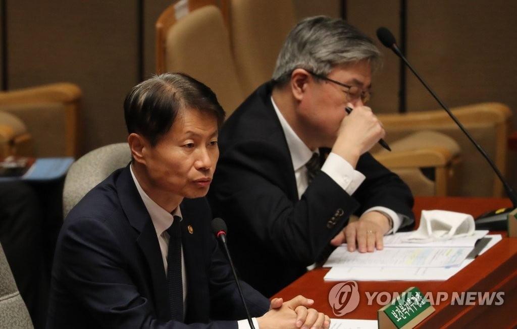 """`자가격리` 복치차관, 17일 국회 본회의 참석 확인…""""마스크 안 끼고"""""""