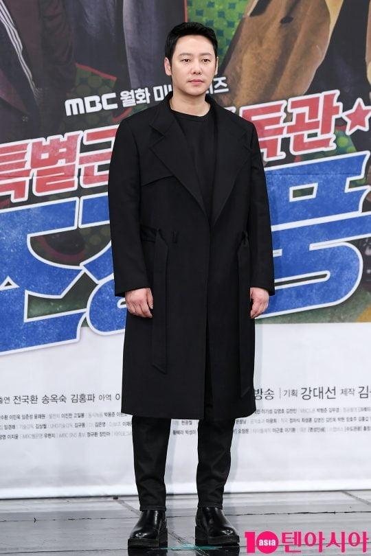 MBC '특별근로감독관 조장풍' 출연 당시 김동욱/사진=텐아시아DB