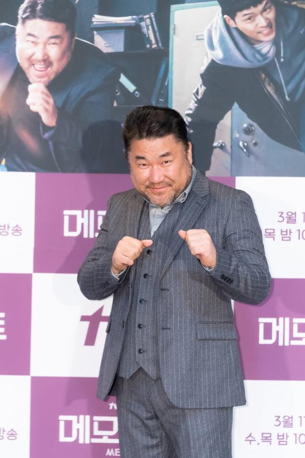 [TEN 포토] '메모리스트' 고창석, '유쾌한 남자'