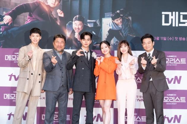 [TEN 포토] tvN '메모리스트' 사랑 넘치는 주역들