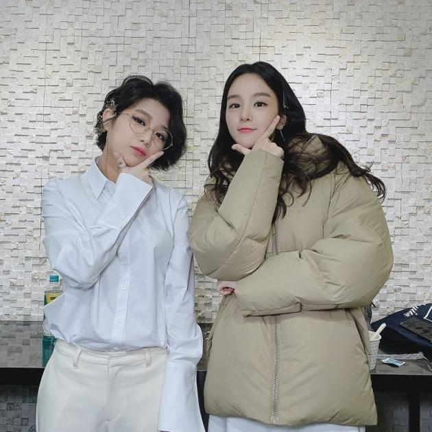 가수 안예은(왼쪽), 국악인 송소희 / 사진=송소희 인스타그램