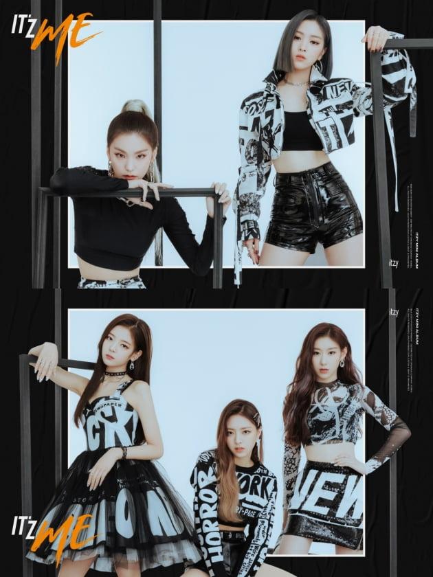 그룹 ITZY의 유닛 티저 / 사진제공=JYP엔터테인먼트