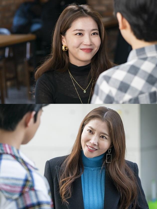 드라마 '한 번 다녀왔습니다' 속 배우 오윤아/ 사진제공=KBS2