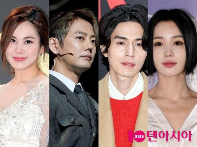 아이비, 테이, 이동욱, 남규리/사진=텐아시아DB