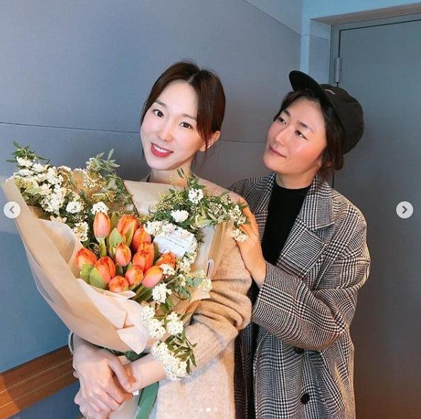 이지혜와 김미려 / 사진 = 이지혜 인스타그램