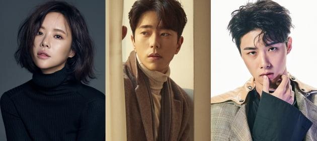 배우 황정음(왼쪽부터) 윤현민, 서지훈/ 사진=각 소속사 및 텐아시아DB