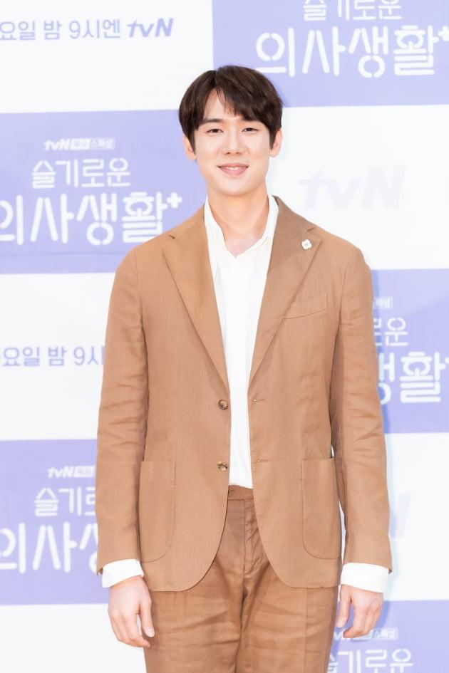 [TEN 포토] '슬기로운 의사생활' 유연석, '드라마 기대감 높이는 배우'