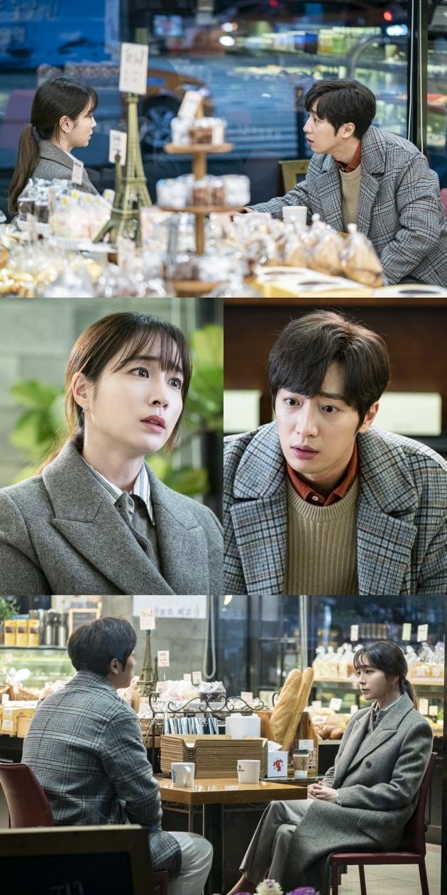 드라마 '한번 다녀왔습니다'의 이민정과 이상엽/사진제공= KBS2