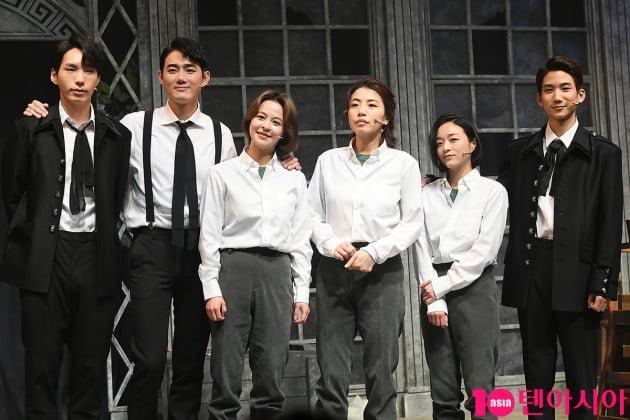 배우 김바다(왼쪽부터), 유승현, 김주연, 정인지, 전성민, 김현진