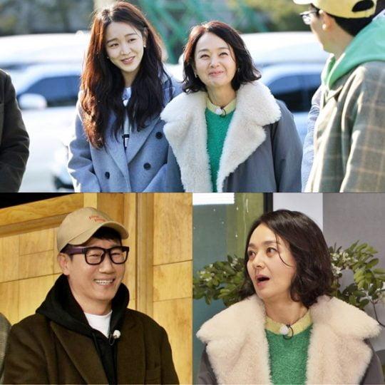 SBS '런닝맨'에 출연한 배우 신혜선, 배종옥./ 사진=SBS