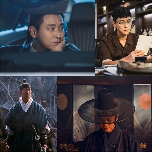 SBS '하이에나'(위)와 넷플릭스 '킹덤2'의 주지훈. / 사진제공=키이스트, 넷플릭스