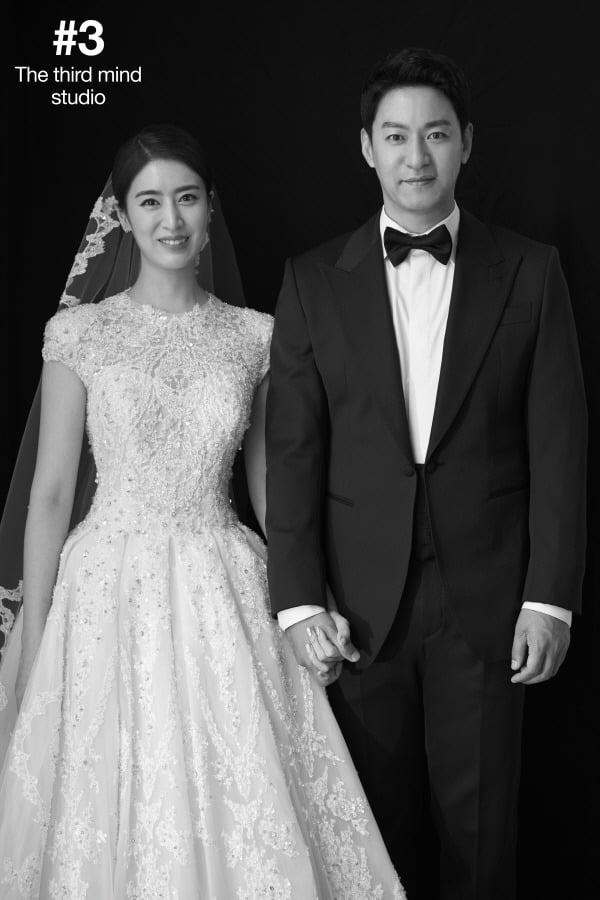주진모-민혜연 웨딩화보 / 사진제공=써드마인드 스튜디오