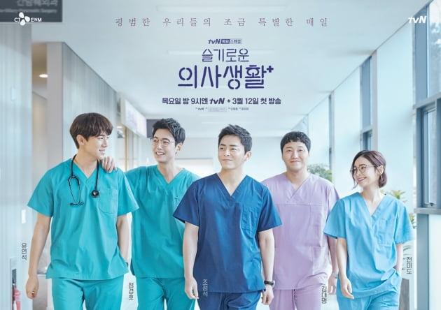 '슬기로운 의사생활' 포스터/ 사진제공= tvN