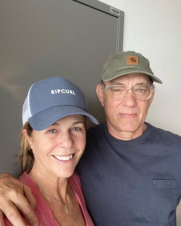 리타 윌슨-톰 행크스 부부 / 사진=톰 행크스 인스타그램
