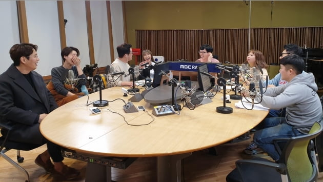 지난 11일 방송된 MBC 라디오 '유재석의 두시밤새'/ 사진제공=MBC