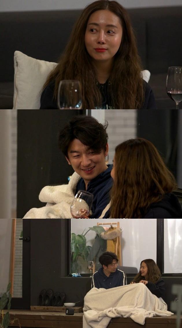 '부러우면 지는거다' 최송현-이재한 커플 / 사진제공=MBC