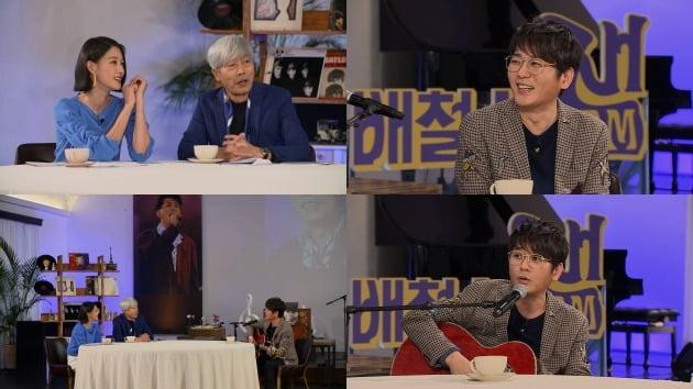 '배철수 잼'에 출연한 가수 신승훈 / 사진제공=MBC