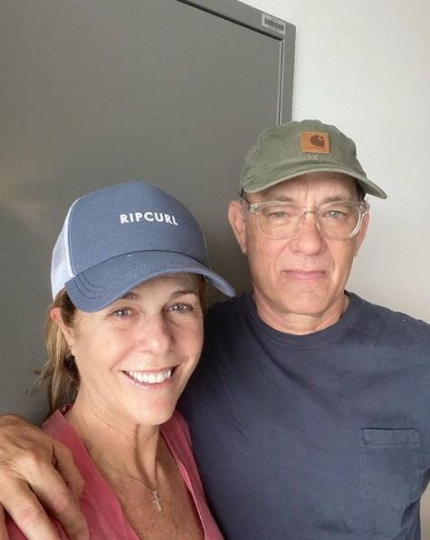 리타 윌슨과 톰 행크스 / 사진 = 톰 행크스 인스타그램