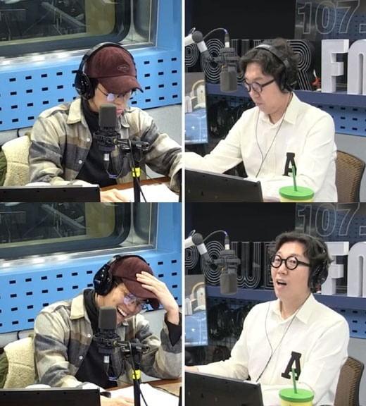 사진=SBS 파워FM '김영철의 파워FM' 영상 캡처.
