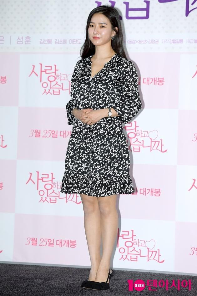 [TEN 포토]'사랑하고 있습니까' 김소은, '단아한 미모'