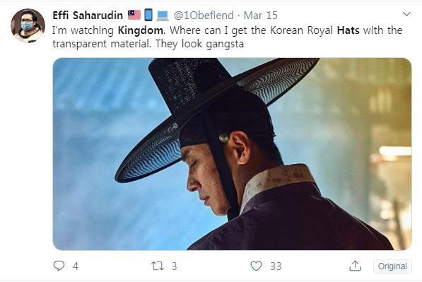 "[TEN 이슈] '킹덤2' 모자(?)에 꽂힌 외국인들…""오 마이 갓"""