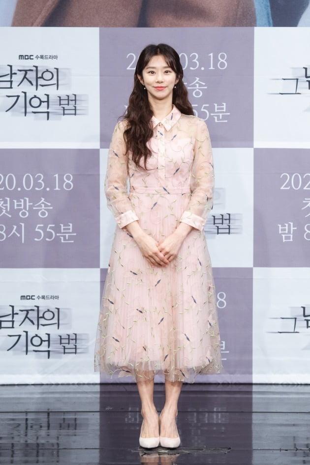 [TEN 포토] '그 남자의 기억법' 이주빈, '봄 기운 가득 담은 패션'