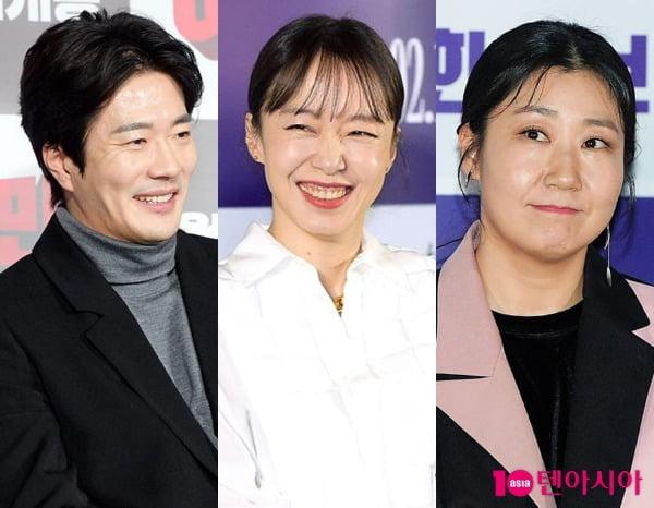 배우 권상우(왼쪽부터), 전도연, 라미란 / 사진=텐아시아DB