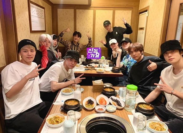 슈퍼주니어 신동과 NCT127 / 사진 = 신동 인스타그램