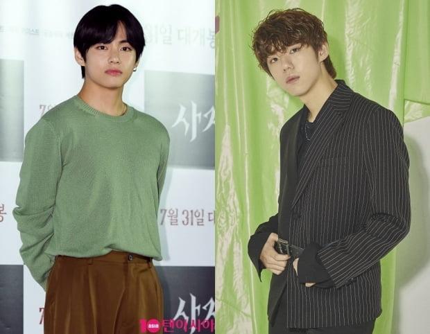 그룹 방탄소년단의 뷔, 가호 / 사진=텐아시아DB, 인넥스트트렌드