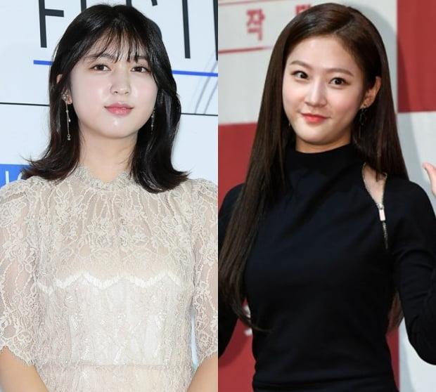 배우 안서현(왼쪽), 김새론 / 사진=텐아시아DB
